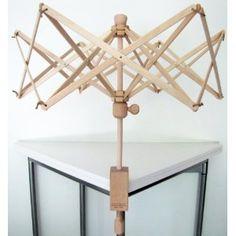 #8: New Wooden Swift Yarn Winder Medium