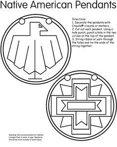nativ american, pendants, circl, art, beads, native americans activities, native american activities, american pendant, indian pendant