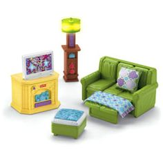 Loving Family Premium Décor Family Room - Fisher-Price Online Toy Store $20