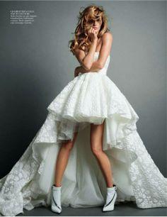 Gisele Bundchen in the November 2013 issue of Vogue Paris