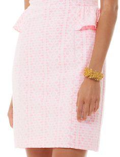 Lilly Pulitzer Abby Peplum Shealth Dress