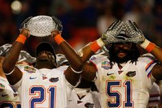 Major Wright and Brandon Spikes 2008 BCS Championship