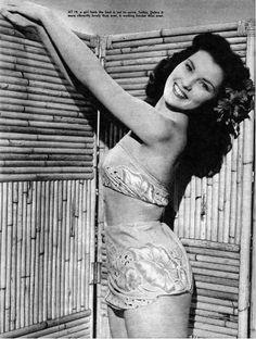 Debra Paget  #vintage #tiki #hawaii
