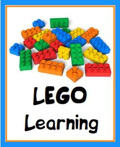 """LEGO Learning   Walking by the Way Simple """"lesson plan"""" activities for using building blocks to teach various traditional academic concepts across age ranges and grade levels. Lego Class, Lego Club, United Studies, Unit Studies, Lego Learning, Lego United, Lego Lessons, Lego Building, Lego Schools"""