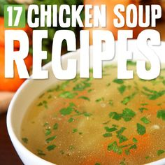 Savory and comforting chicken soups to nourish your body and soul…