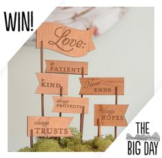 Win a Love is Patient cake topper from figs & ginger! Prize winners drawn all day!  (Items pictured are examples of the artists' work and may differ from actual prize offered at the fair.)