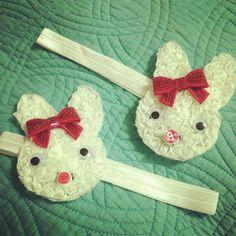 Easter bunny headbands!!!