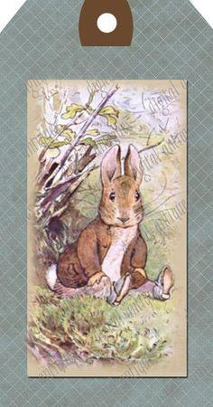 Beatrix Potter Animal Tags