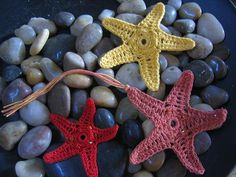 Orange Sea Star by crochetroo, via Flickr