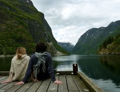 mountain, the bay, heaven, dream, lake, life goals, place, wanderlust, norway