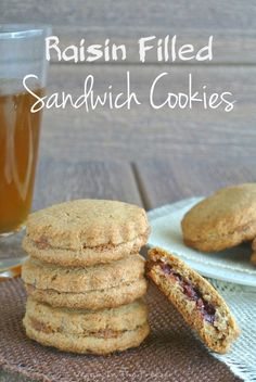 Raisin Filled Sandwich Cookies are actually an old fashioned cookie recipe that has been updated with a rich jam like filling - really makes them special.