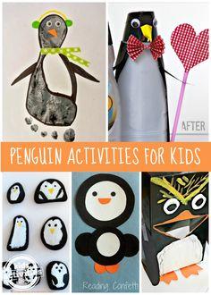 11 {Adorable} Penguin Activities