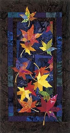 """""""Drifters"""", 27 x 52"""", quilt pattern by Bee Creative Studio"""