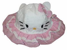 hello kitti, girl ruffl, buckets, hat toddler, toddler girls, kitti toddler, ruffl bucket, hello kitty, bucket hat