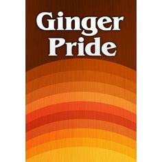 Ginger Pride Redheads Poster - 13x19 $4.80 #ginger #hair #redhair #redhead #redheads