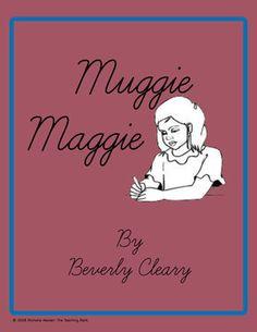 Muggie Maggie Novel Unit ~ Common Core Standard Aligned!