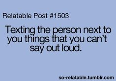 Yes...all the time
