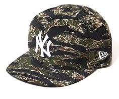 New Era x MLB「Yankees Tiger Camo」59Fifty Fitted Baseball Cap