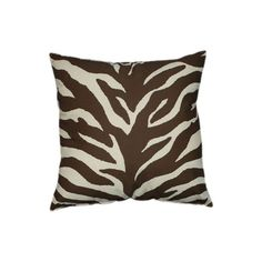 I pinned this Karin Maki Zebra Pillow from the Kristin Paton Interiors event at Joss & Main!