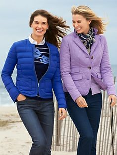 Quilted Coat #Talbots
