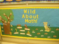 Interactive math bulletin board that i made