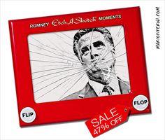 Mitt Romney EtchASketch - Broken and On Sale  :   http://mariopiperni.com/