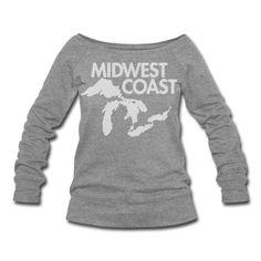 Midwest Coast Sweatshirt. Love it!