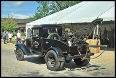 Ford Model A tow truck