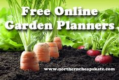 Get ready for the growing season with these Free Online Garden Planners