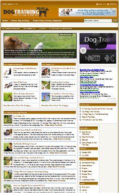 Dog Training Information   Tips on Dog Training   Dog Training Resources