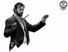 maestro de partitura Pirlo