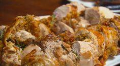 Chicken Ballotine - Medieval Feast | MasterChef Australia #MasterChefRecipes