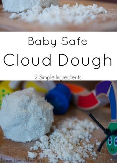 Do you teach in a Preschool or Daycare? Baby Safe Cloud Dough- Organic- Gluten Free- A Must Try! Simple!