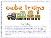 Here's an activity for building and comparing number trains.
