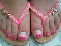 pedicure ^_^ by ardea_dea - Nail Art Gallery nailartgallery.nailsmag.com by Nails Magazine www.nailsmag.com #nailart