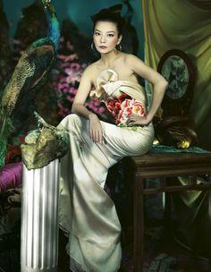 Zhao Wei for Harper's Bazaar China
