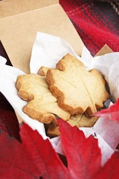 maple-brown-sugar-shortbread by luluthebaker, via Flickr thanksgiving cookies, chocolate chips, brown sugar, food dinners, sugar shortbread, fall autumn, autumn harvest, cookie cutters, mapl brown