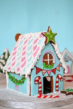 Gingerbread house by deborah hwang, via Flickr