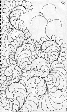 LuAnn Kessi: Quilting Sketch Book.....Background Fill