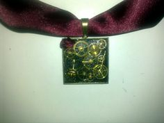 Steampunk Pendant #howto #tutorial