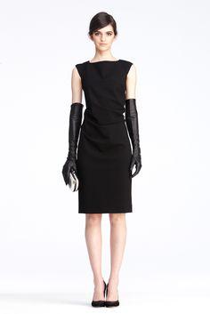 DVF   Gabi Dress In Black, Pre-Fall 2012: Macadam Diva