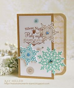 My Joyful Moments: NBUS Challenge #2 Papertrey Ink and Stampin Up stamps and dies