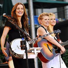 Dixie Chicks. July 12 Saddledome. Last saw them at Lilith Fair in Toronto in 1999, won those tickets on Y105 in Ottawa.
