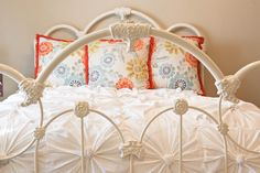 kojotutorial: anthropologie inspired knotted bedding part 1 (making the knotted squares) | kojodesigns