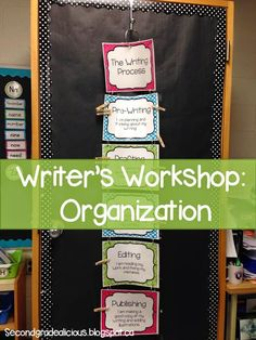 Looking for ways to help organize your students during writer's workshop? Use a clip chart to keep track of where each student is at in the writing process.