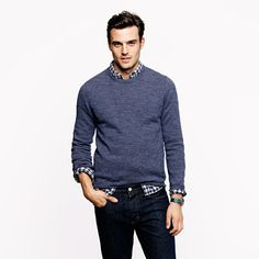 Blue shirt and sweater