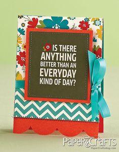 @Kimberly Peterson Kesti - Paper Crafts magazine