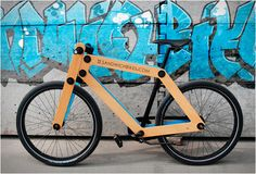 Sandwichbike Flat Packed Wooden Bicycle pictures