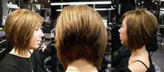 angled bob haircut with new wispy twist (photo of front, back ...