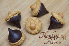 Easy Thanksgiving Acorn Treats » My Little Me